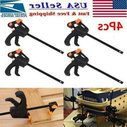 Adjustable Quick Woodworking Clip Quick Grip Squeeze Tools W
