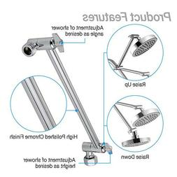 adjustable shower arm bathroom wall mount pipe