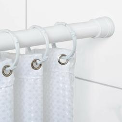 Adjustable Tension No-Tools Stall Shower Rod Curtain Rods Ba