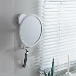 Anti Fog Wall Mount Shower Mirror For The Bathroom With Stor