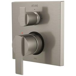 Delta Ara Shower Control with 3-Setting Diverter in Steel In