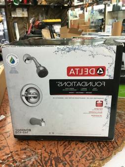 Delta B114900C Foundations Single-Handle 1-Spray Tub Shower