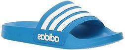 Adidas B42211: Men's Bright Blue/White Adilette Shower Slide