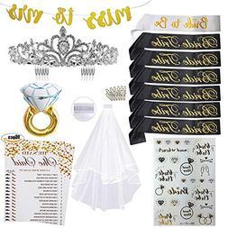 Bachelorette Party Bride to Be Accessories Favors Kit | Brid
