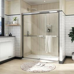 "Bath 48"" x 72"" Framed Sliding Bath Shower Door Screen 1/4"" C"