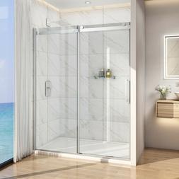 """Bath 60"""" x 72"""" Frameless Sliding Shower Door Screen 5/16"""" Gl"""
