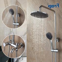 Frap Bathroom <font><b>Shower</b></font> Faucet Rainfall <fo