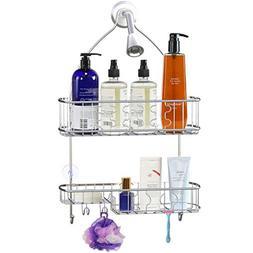Simple Houseware Bathroom Hanging Shower Head Caddy Organize