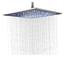 Rozin Bathroom Replacement LED Changing Color 16-inch Square