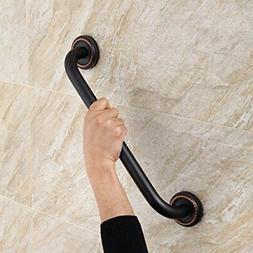 FLG Bathroom Shower Bath Grab Bar, Oil Rubbed Bronze Grab Ba