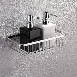 KES Bathroom Shower Caddy Rustproof Rectangular Bath Storage