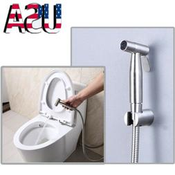 Bathroom Shower Head Stainless Steel Hand Held Toilet Bidet