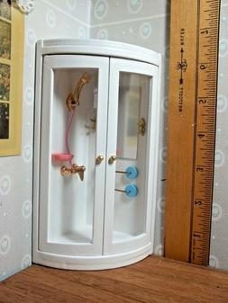 BATHROOM SHOWER WITH ACCESSORIES   - FREE STANDING -  DOLL H