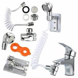 Bathroom Sink Faucet Sprayer Set External Faucet Shower Clea