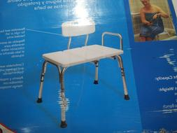 Carex Tub Transfer Bench - Shower Chair Transfer Bench with