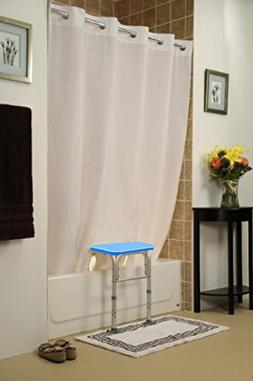 BenchMate Split Shower Curtain for Bath Transfer Benches - B