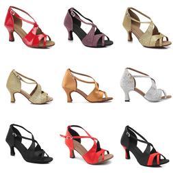 Brand New Ballroom heeled Latin Dance Shoes for Women/Ladies