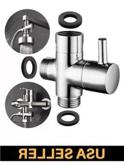 Brass 3-way Diverter Valve for Shower Head Bath Tap Switch O