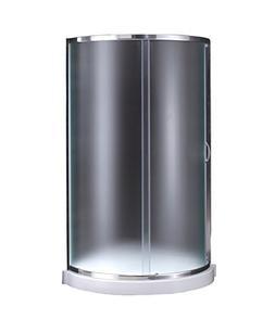 Ove Decors Breeze 34 Shower Kit Paris Glass Without Walls
