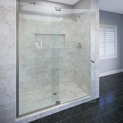 """Basco Cantour 36-1/16""""- 42"""" glass shower door & panel, 3/8"""""""