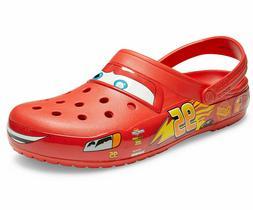 lightning mcqueen crocs size 8 mens