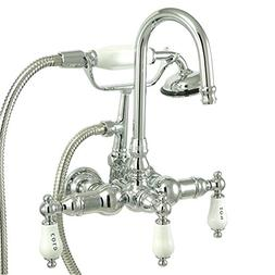 Kingston Brass CC10T1 Vintage Leg Tub Filler with Hand Showe