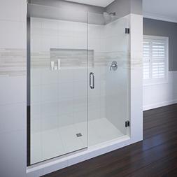 Basco Celesta Shower Door, Fits 46.06 - 47 in. Opening, Clea