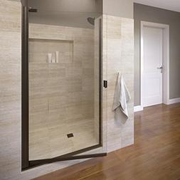 "Basco Classic 66"" x 28.13"" Single Swing Shower Door"