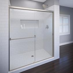 Basco Classic Sliding Shower Door, Fits 40-44 inch opening,