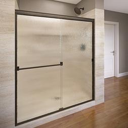 Basco Classic Sliding Shower Door, Fits 44-47 inch opening,