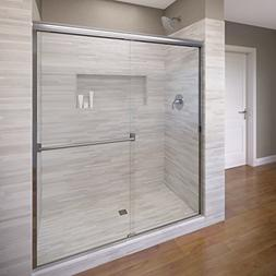 Basco Classic Sliding Shower Door, Fits 56-60 inch opening,