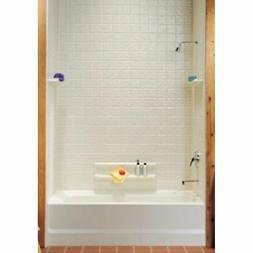 Classics Swantile Tub Wall Kit, White