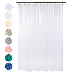 """Amazer Shower Curtain, 72"""" W x 72"""" H Clear EVA 8G Mildew Res"""