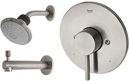 Concetto Single-Handle Single-Spray Tub and Shower Faucet Co