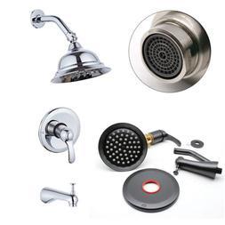 Contemporary Rainfall Bath Tub - Shower Faucet Showerhead Di