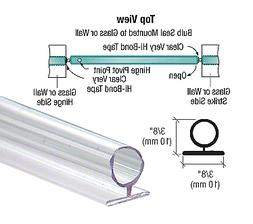 CRL Large Translucent Vinyl Bulb Seal - 95 in long by C.R. L