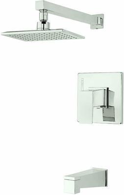 Danze D501062PNVT Mid-Town Single Handle Tub and Shower Trim