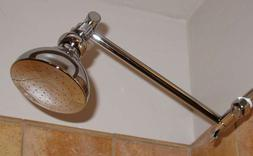 "Danze 4"" Shower Head & 9"" Extension Arm"