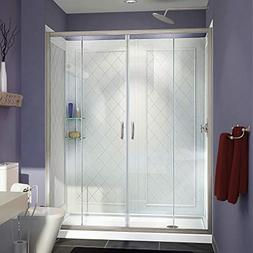 DreamLine DL-6115L-04CL Visions Shower Door, 36 x 60 Base &