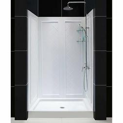 "DreamLine SlimLine 36"" x 48"" Single Threshold Shower Base &"