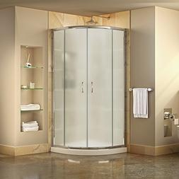 DreamLine DL-6701-01FR Prime Frameless Shower Enclosure & 33