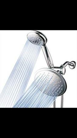 DreamSpa 1432 3-way Rainfall Shower-Head and Handheld Shower