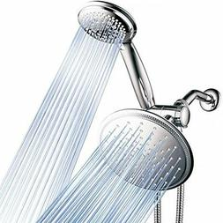 DreamSpa 3-way 8-Setting Rainfall Shower Head And Handheld C
