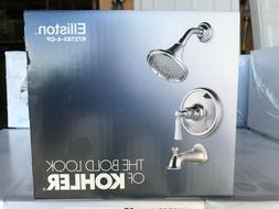 Kohler Elliston Tub & Shower Faucet 2.0 GPM Showerhead Polis