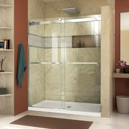 "DREAMLINE ESSENCE 56""-60"" X 76"" BYPASS SLIDING SHOWER DOOR,"
