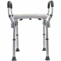 Essential Medical Bath & Shower Aids Molded Bench With Arms