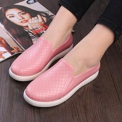 Fashion Womens Rain boots Shallow kitchen shoes Flats Slip o