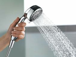 Delta Faucet 7-Spray Touch-Clean Hand Held Shower Head with