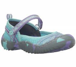 JAMBU Fia Girl's Outdoor Mary Jane Shoes Aqua Purple NEW NWT
