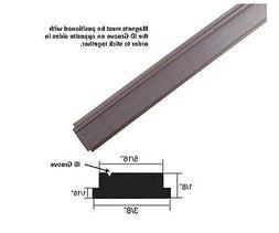 """Flexible Magnetic Insert Strip for Framed Shower Doors - 84"""""""